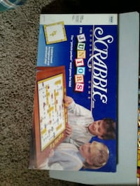 Scrabble Juniors board game box Edmonton, T5Y 1A7