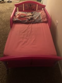 Girls toddler bed LAUREL