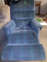 blue fabric recliner sofa chair Marysville