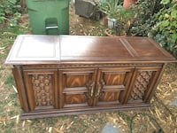 brown wooden sideboard with mirror San Jose, 95122