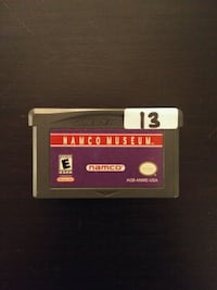 Gameboy Advance Namco Museum (4 games in 1) Mississauga, L4W 1S9
