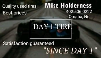 Quality used tires! Best prices! Satisfaction guaranteed!