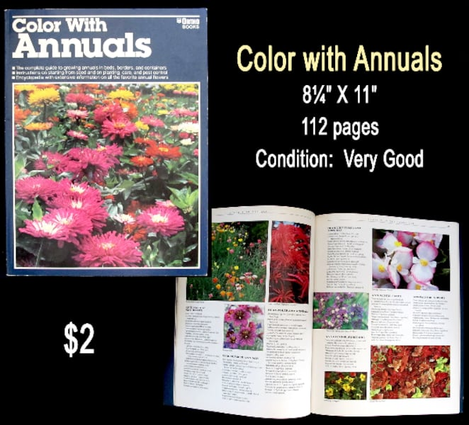 Colourful Gardening Books . . . $2 each 6b743ed3-e2d4-4e83-aaf5-fc3d9dc24a4c