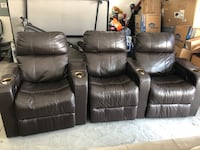Theater chairs ( set of 3)--$480 The Villages, 32162