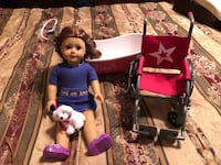 "Lot of 4 American Girl 18"" doll Saige and accessories Denham Springs, 70726"