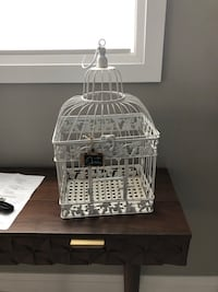 Rustic bird cage for wedding cards  Spruce Grove