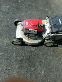 white and red push mower New Market, 21774