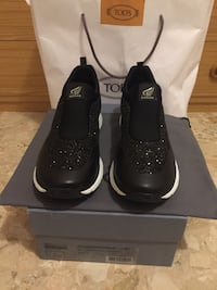 Sneakers Donna Hogan nere con strass