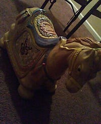 brown , blue, and green ceramic horse figurine East Cleveland, 44118