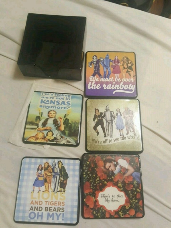 Wizard of oz coasters