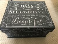 Wedding gift : Box, poem, candles  & candle holders NEVER USED!! Joliet, 60586