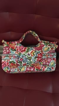 Green, white, and pink floral tote bag Lorton, 22079