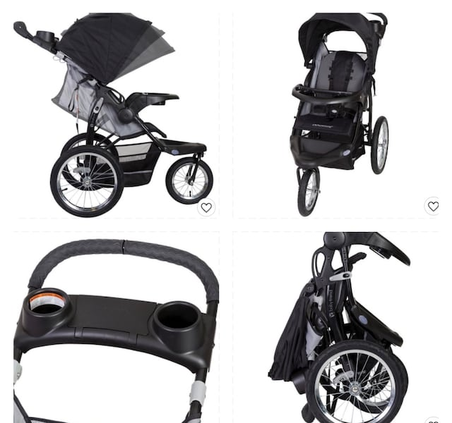 Two baby essentials babytrend stroller and car seat removable  cf8ca972-774c-4a42-a36e-a47de5370fe9