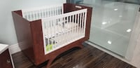 Dutailier Crib - Melon With A Conversion Kit Mississauga