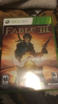 Xbox 360 Fable III game case