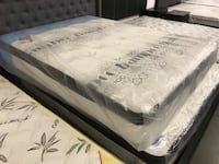 Brand new thick gel foam spring uro top mattress on sale  多伦多, M1V 1S4