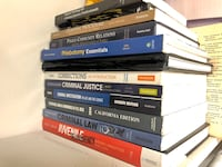 Like new criminal justice books obo Bakersfield