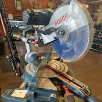 Bosch Dual Bevel Slide Miter Saw 12 inc 5412L with stand Justice, 60458