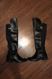 Beautiful Black Women's Knee High Boots size 8.5