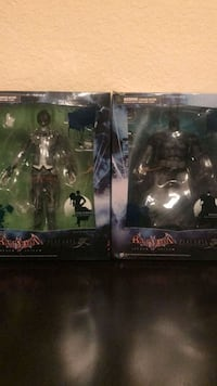 two Batman action figure packs Milpitas, 95035
