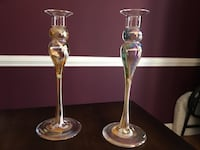 New Hand blown glass candle holders Alexandria, 22312