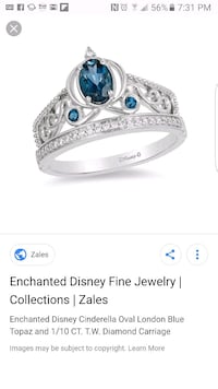 Enchanted Disney ring Glen Burnie, 21061