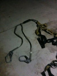 Safety harness and lanyard w/big hooks Sanger, 93657