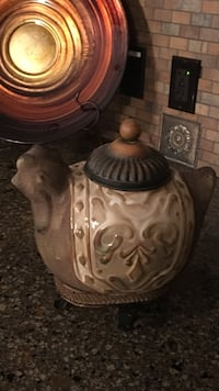 white and brown ceramic teapot Chestermere, T1X 0C3