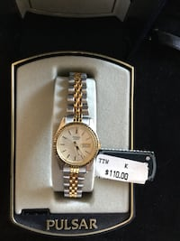 Ladies Pulsar stainless steel watch Orlando, 32804