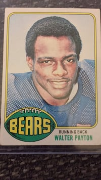 1976 Walter Payton rookie Sterling Heights, 48312