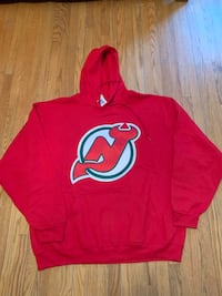 New Jersey Devils Christmas hoodie men's size 2 XL