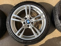 "BMW 400m 18"" wheels with Pirelli Sottozero winter tires  Fulton, 20759"