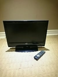 "20"" LG LCD TV with remote Brampton, L6R 2S2"