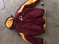 NFL on field authentic Washington redskins coat brand new with tags XL Wilmington, 28412