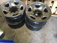 3/4 ton Dodge Rims. Barely used changed out when truck was new.