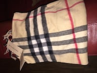 Authentic Burberry Cashmere Scarf NEW