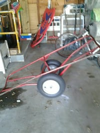 red steel hand truck North Providence, 02911