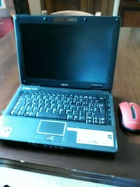 laptop HP nero e blu 7239 km
