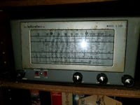 Early 50s Hallicrafters S38d. Shortwave. Pittsburgh, 15223