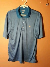 Large Blue Champion Polo Shirt