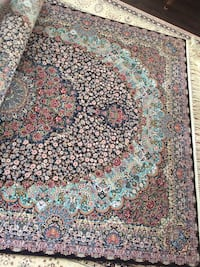 white, red, and green floral area rug Brampton, L6V
