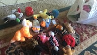 assorted animal plush toy lot Leesburg, 20176