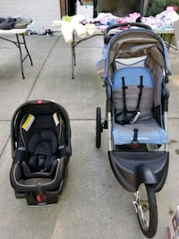 Graco infant carseat & Baby Trend jogger  Everett, 98208