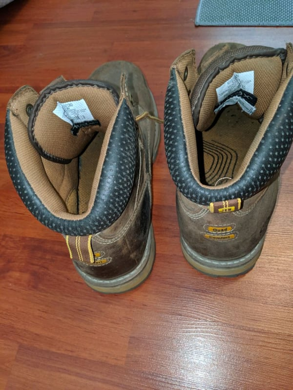 Constitution steal toe boots size 12 8e40b352-011d-4c2e-be5d-bb66c7e6c95f