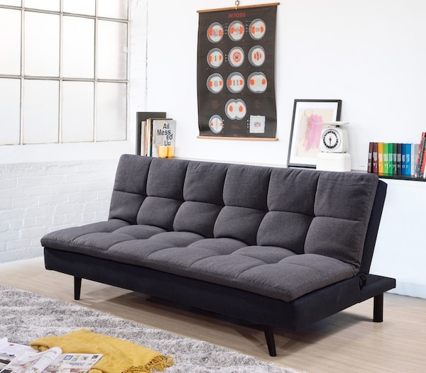 Fabulous Pillow Top Click Clack Sofa Bed With Removable Washable Cover Cjindustries Chair Design For Home Cjindustriesco