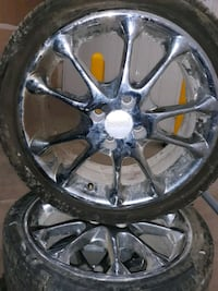 16 inch chrome Rims  WDM, 50266