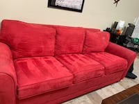 Red King Size Sleeper Sofa Fort Myers, 33967