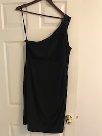 Size 14-Black one shoulder strap mini dress Mississauga, L5M 6Y7