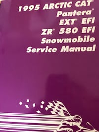 New snow machine service manual. Anchorage