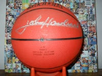 red and black Spalding basketball Miami, 33155